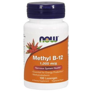 Now Foods Methyl B-12 1000 mcg 60 kaps.