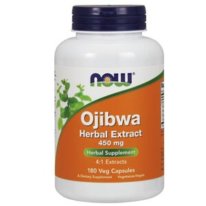Now Foods Ojibwa Herbal Extract 4:1 - 450 mg 180 kaps.