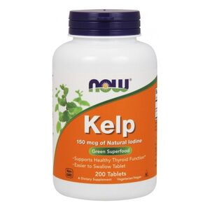 Now Foods Kelp 150 mcg 200 kaps.