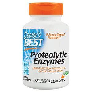 Doctor's Best Proteolytic Enzymes - Enzymy proteolityczne - 90 kaps.