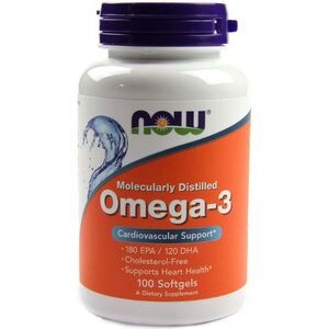 Now Foods Omega 3 1000 mg 100 kaps.
