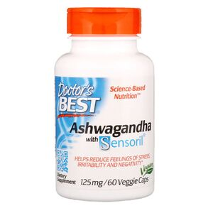 Doctor's Best Ashwagandha with Sensoril 125 mg 60 kaps.