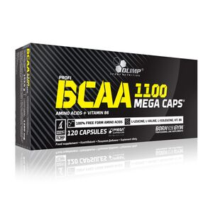BCAA MEGA CAPS 1100mg 30kaps *Olimp* Blister