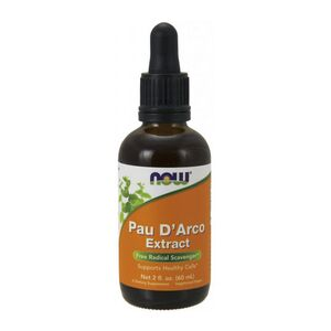 Now Foods Pau D'Arco - La Pacho, Extract 60ml