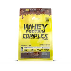 Olimp Whey Protein Complex 100% 700g-Double Chocolate