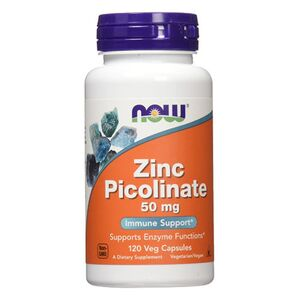Now Foods Cynk Picolinate 50 mg 120 kaps.