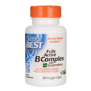 Doctor's Best Fully Active B Complex - kompleks witamin z grupy B - 30 kaps.
