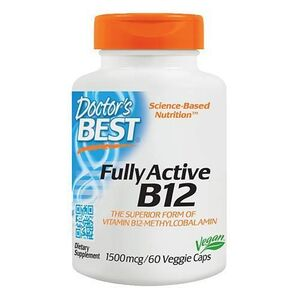 Doctor's Best Fully Active B12 1500 mg 60 kaps.