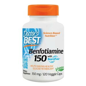 Doctor's Best Benfotiamina 150 mg 120 kaps.