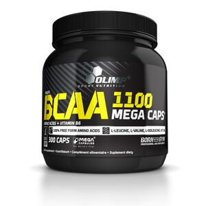 BCAA MEGA CAPS 1100mg 300kaps *Olimp*