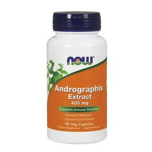 Now Foods Andrographis Extract 400 mg 90 kaps. wegetariańskich