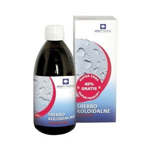Alter Medica srebro koloidalne 500 ml - Tonik do twarzy