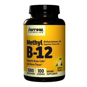 Jarrow Formulas Methyl B-12 1000 mcg 100 kaps.