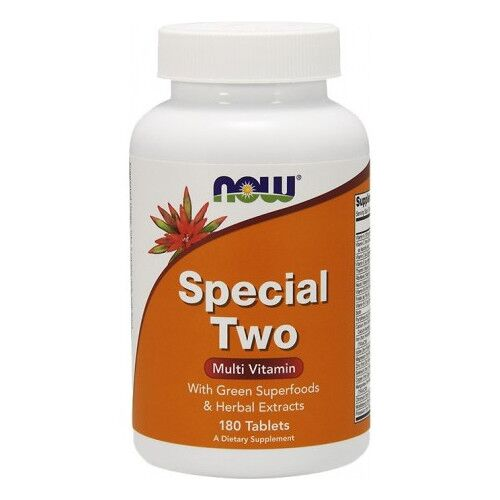 Now Foods Special Two multiwitamina, 180 kaps.