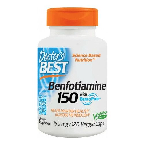 Doctor`s Best Benfotiamina 150 mg 120 kaps.