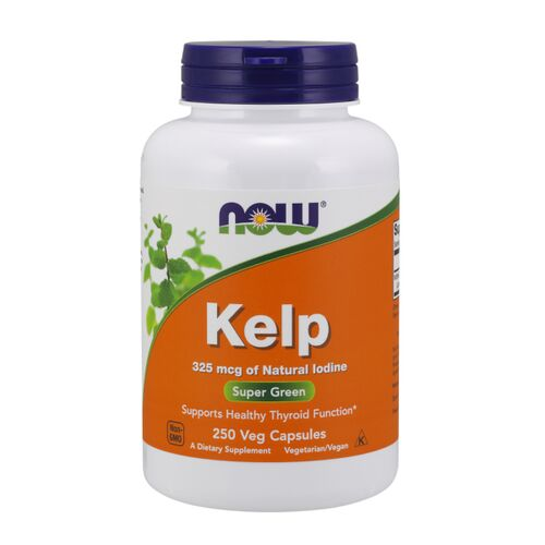 Now Foods Kelp - 325 mcg - 250 kaps.