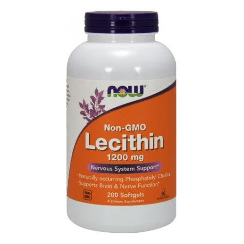 Now Foods Lecytyna 1200 mg 200 kaps.