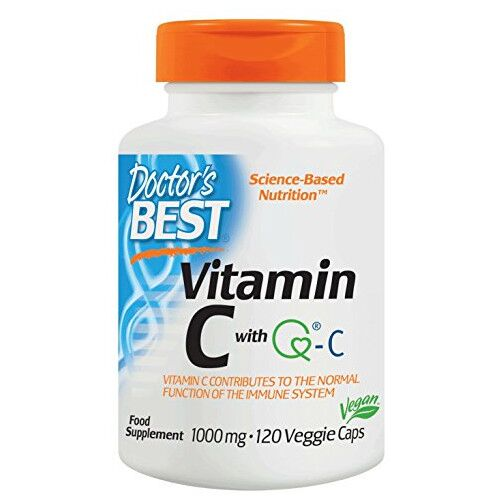 Doctor's Best Vitamin C with Quali-C - 1000 mg 120 kaps.