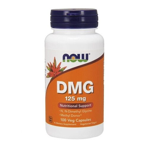 Now Foods DMG - kwas pangamowy - 125mg 100 kaps.