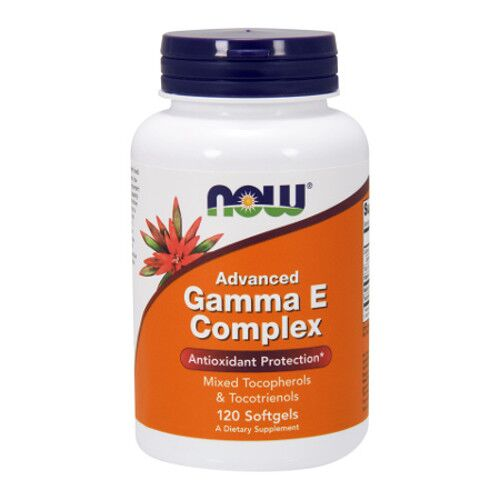 Now Foods Advanced Gamma E Complex - Witamina E - 120 kaps.