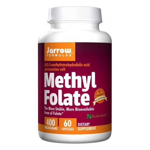 Jarrow Formulas Methyl Folate 400 mg 60 kaps.