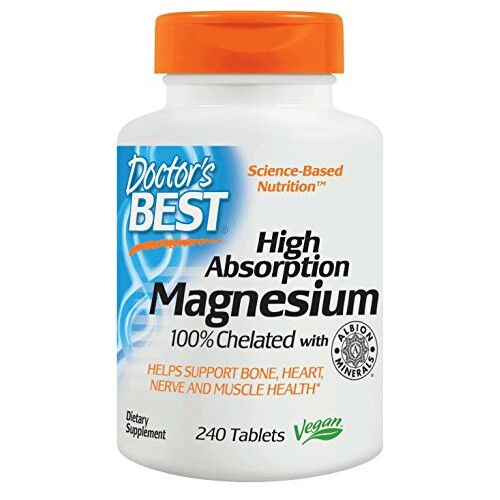 Doctor`s Best High Absorption Magnesium - 240 kaps.